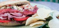 Italian Torta Hot Sub Sandwich